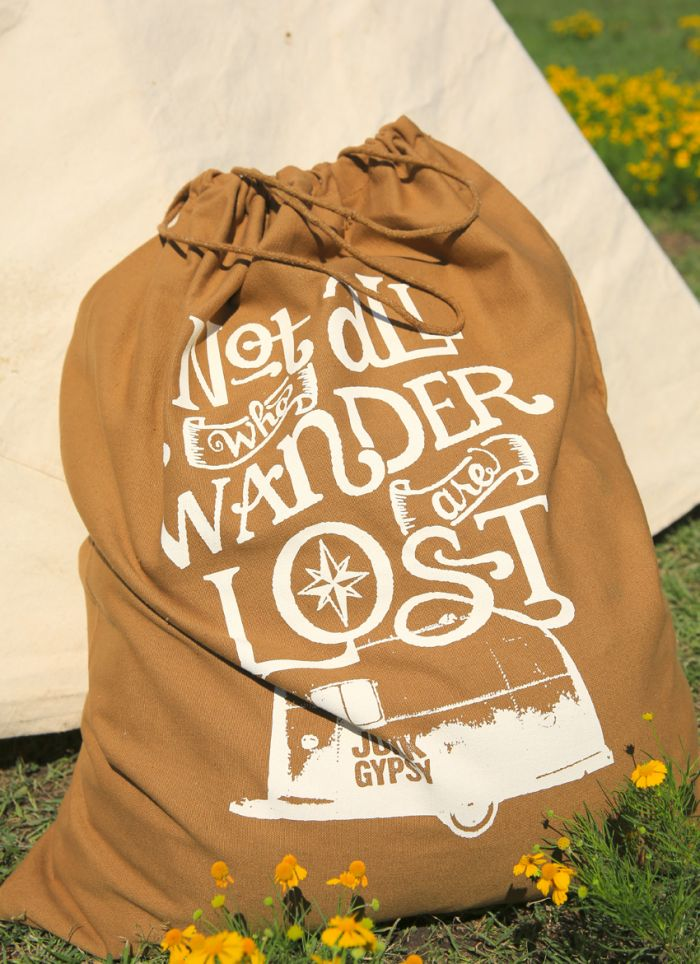 Not all who Wander Laundry Bag