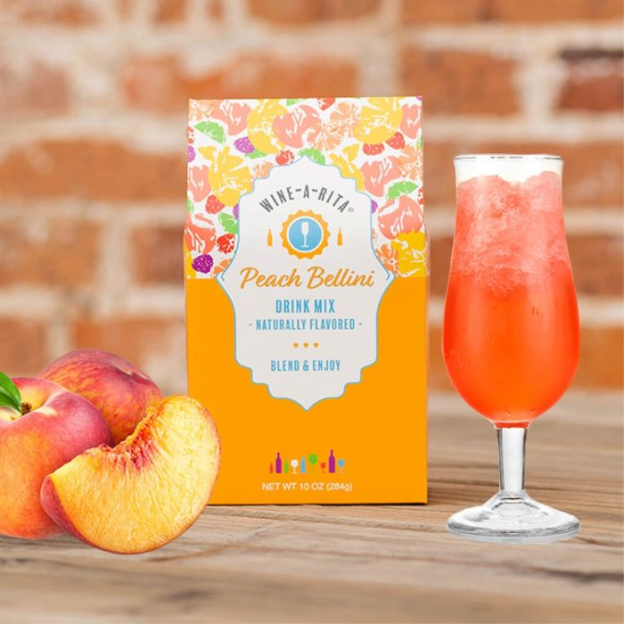 peach bellini drink mix
