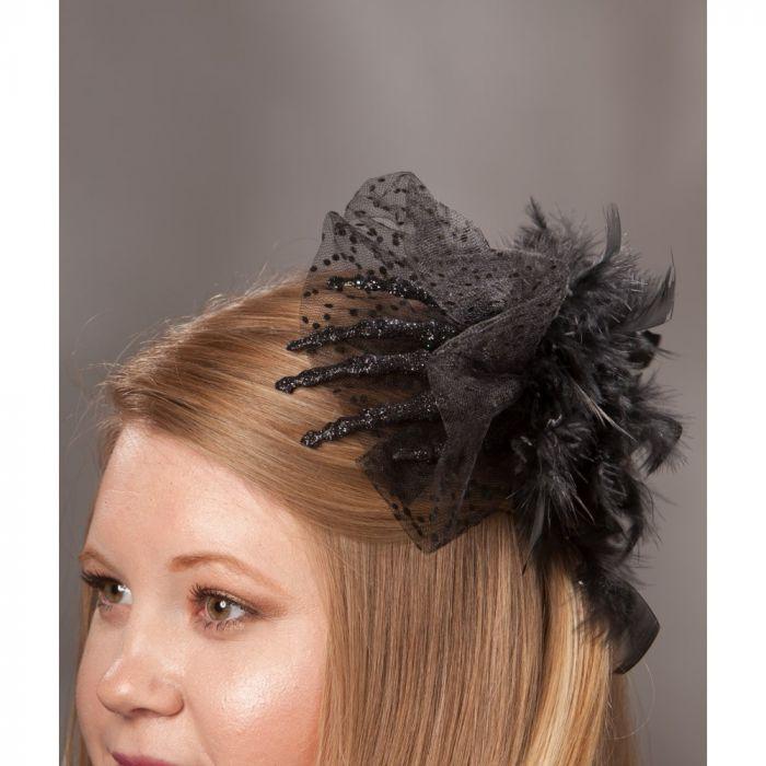spooky hand hair clip