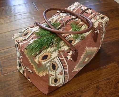 clay mountain weekender bag