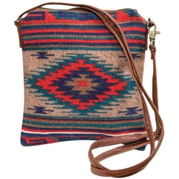 red hills tribal crossbody bag