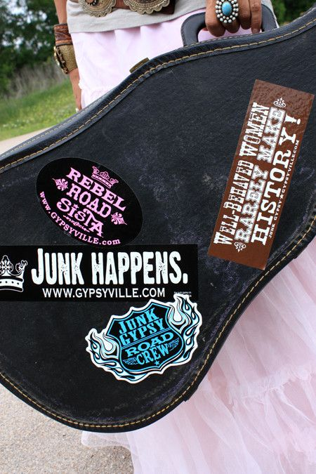 junk gypsy bumper sticker