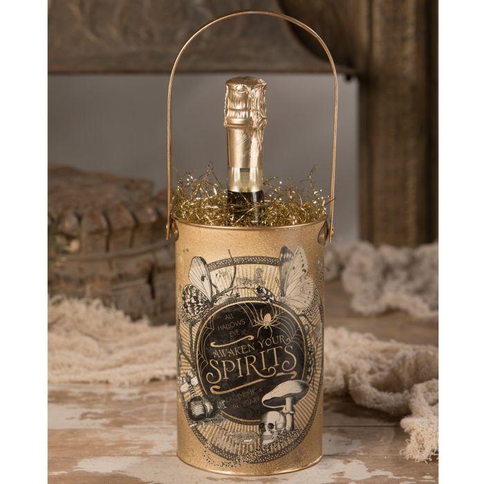 all hallows' eve wine bucket
