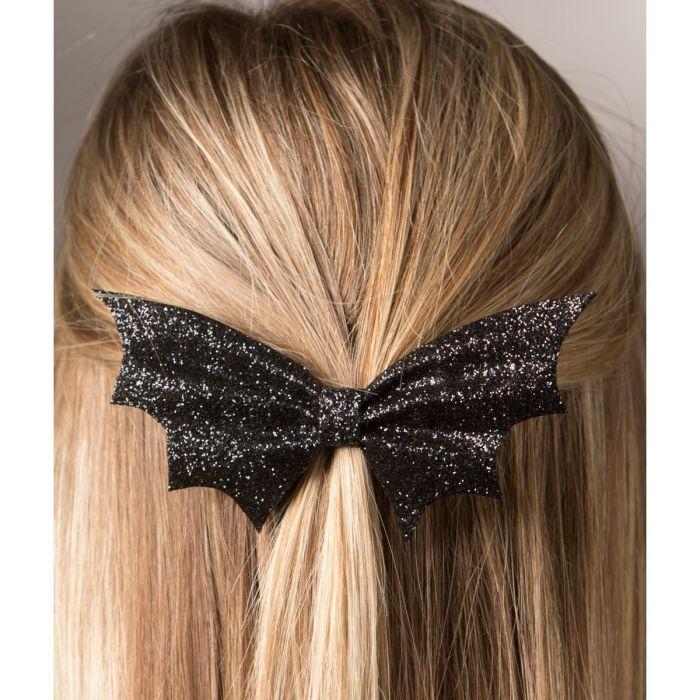 going batty hair clip