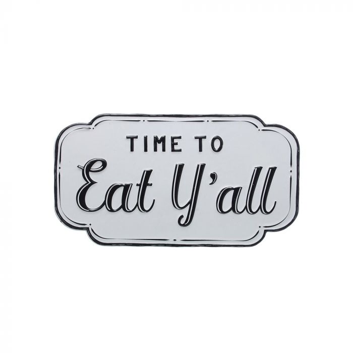 """""""time to eat y'all"""" wall decor"""
