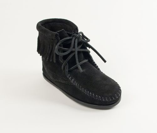 kids tramper black mocs