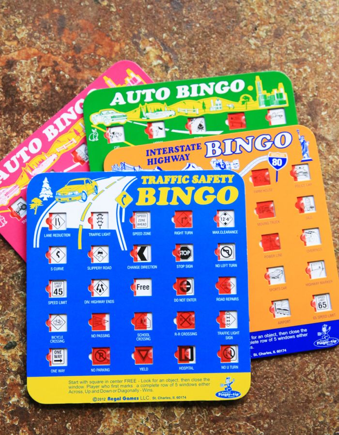 travel bingo games