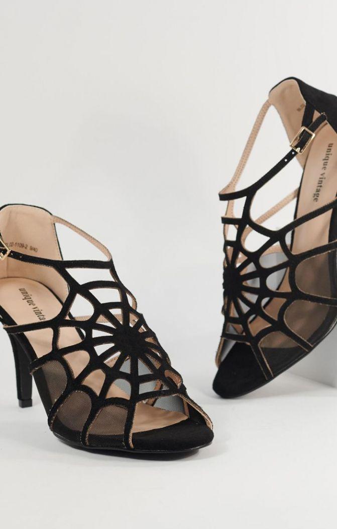 buffy spider web heels