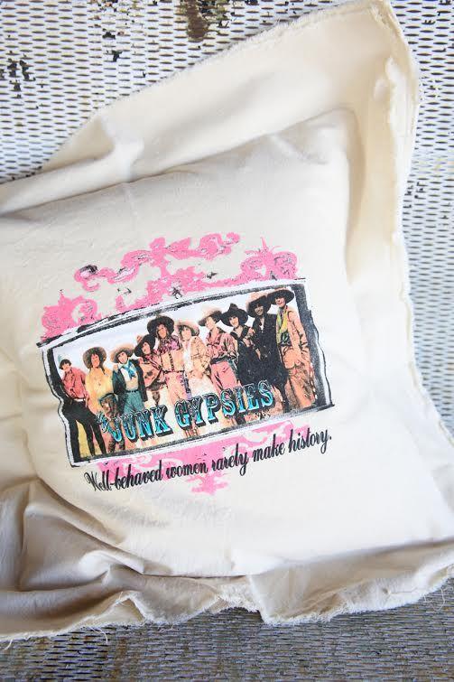 well behaved women pillow-canvas