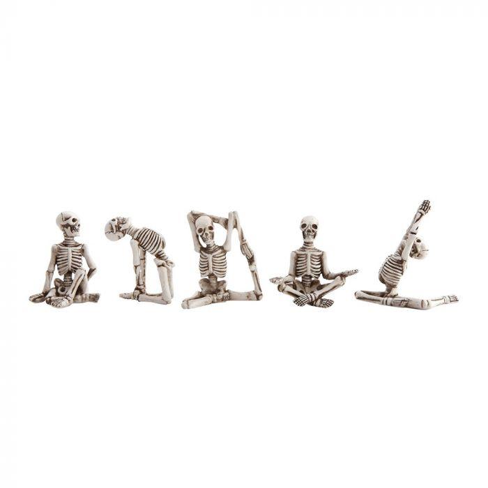 Yoga Skeletons - Set of 5