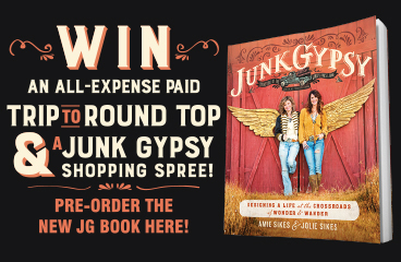 JG book sweepstakes!